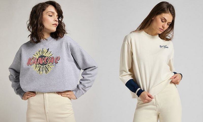 STRICK-LOOKS UND SWEATSHIRTS